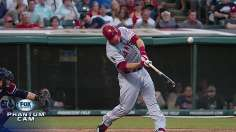 Trout's two-HR effort backs strong Shoemaker