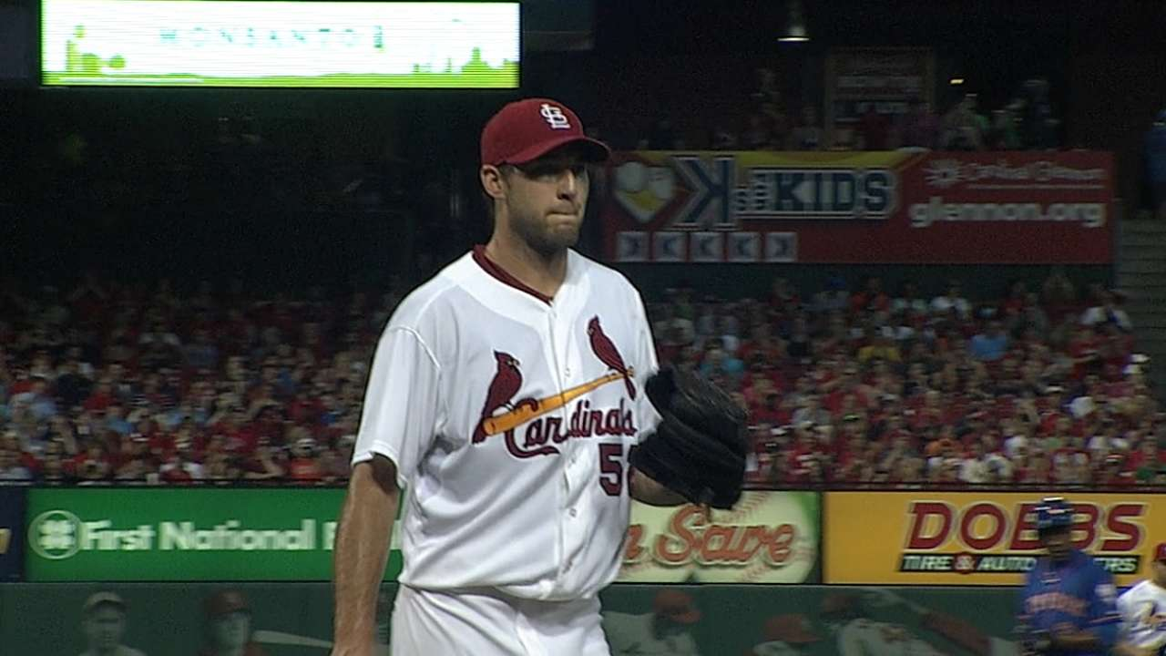 Wacha to skip next start to preserve arm