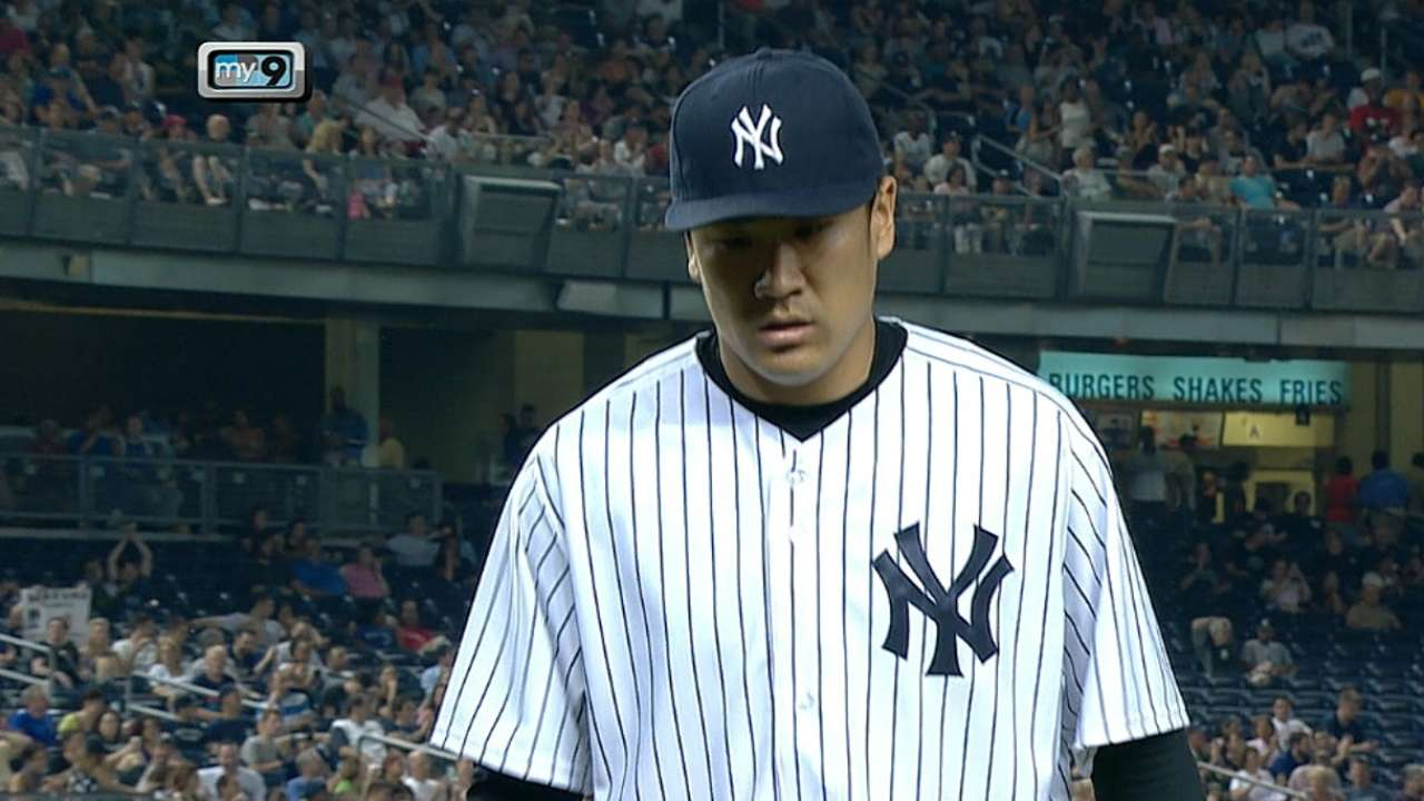 Tanaka tops Jays to earn Majors-best 11th victory