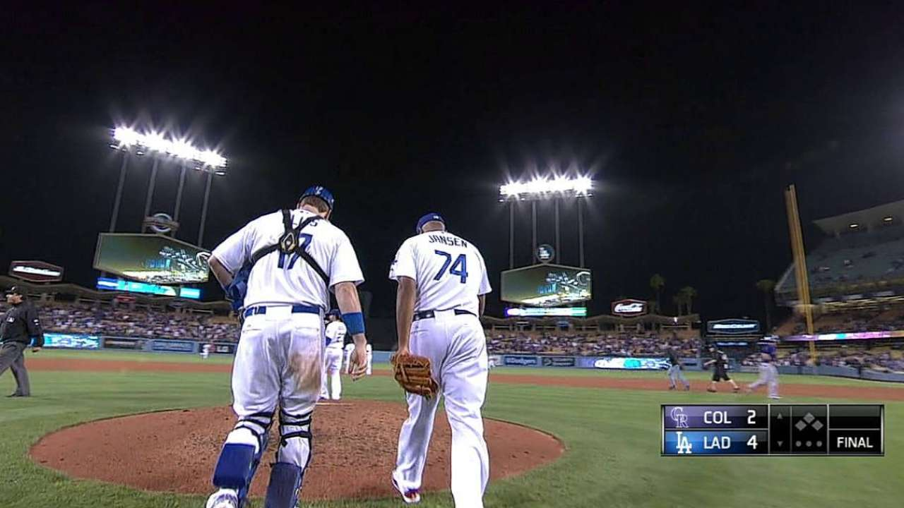 Jansen works on mechanics after blown save