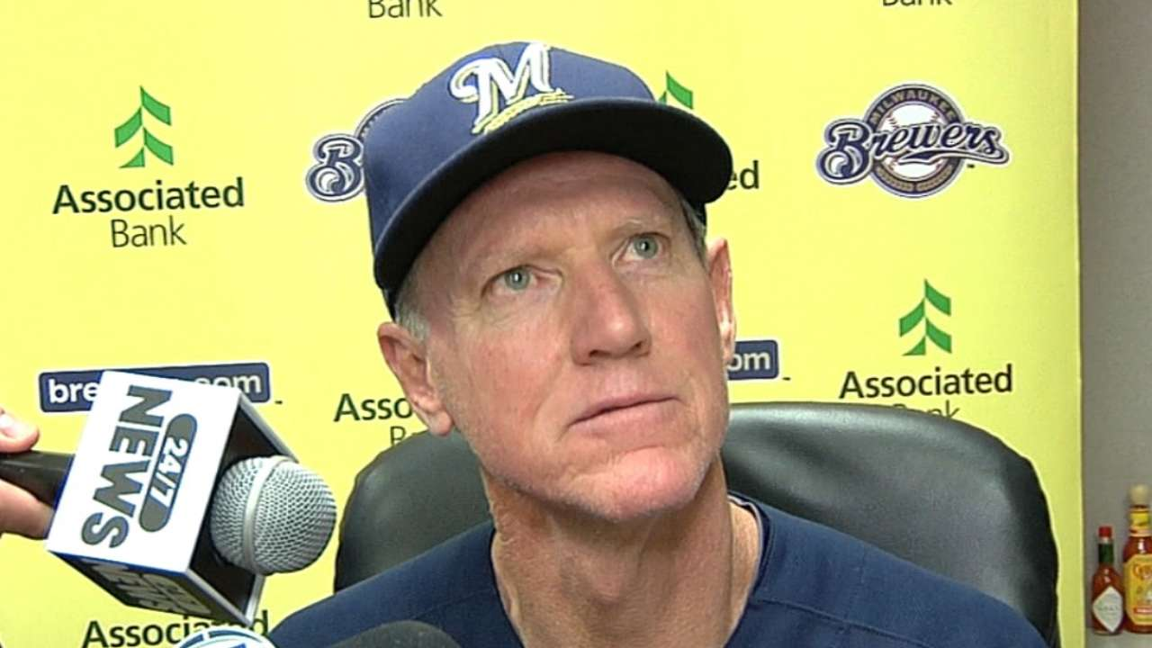 Roenicke has no interest in HBP battles