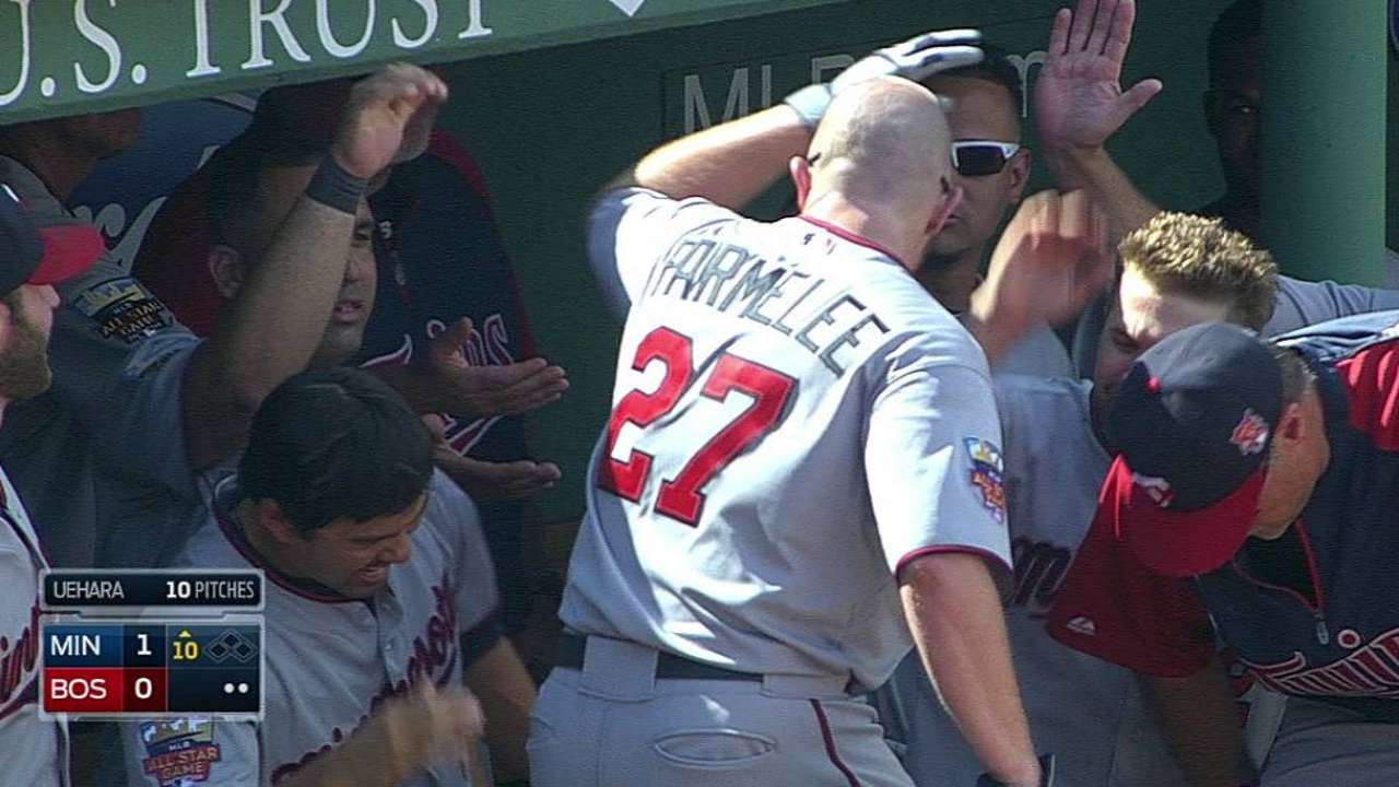 On verge of ending skid, Twins fall to Red Sox in 10