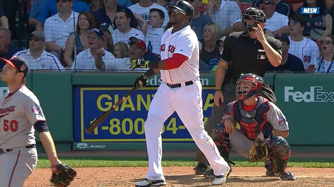 Boston barrió a Mellizos con un triunfo en 10 innings
