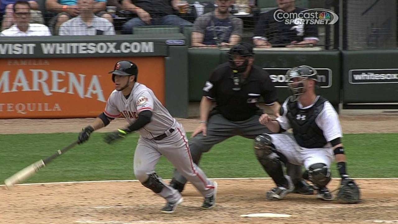 Bochy shakes up order, drops Blanco to eighth spot