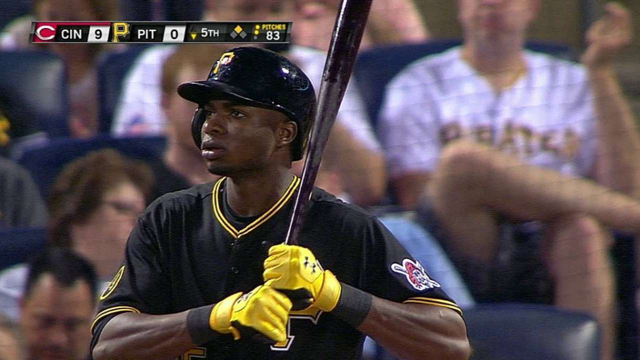 Polanco takes place in Bucs history in loss to Reds