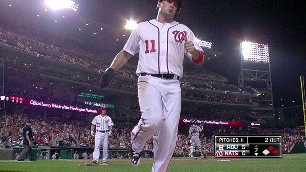 Nacionales despiertan en la 7ma y vencen a Astros