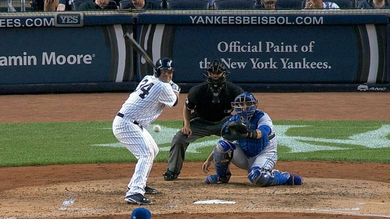 McCann's five RBIs lead Yankees past first-place Jays