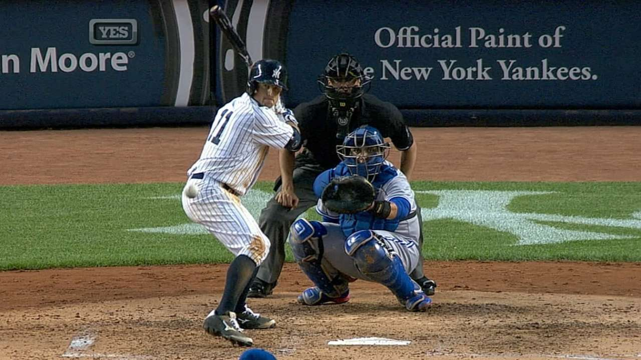Gardner sparking Yankees' lineup from up top