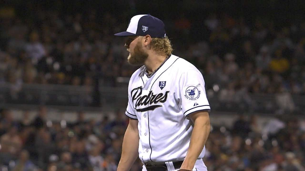 Cashner pleased with first bullpen session