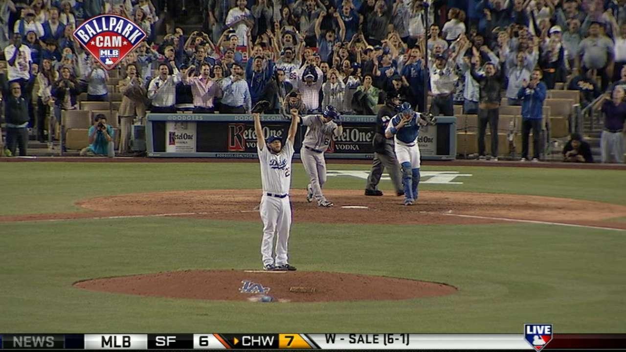 No-hitter earns Kershaw weekly honors
