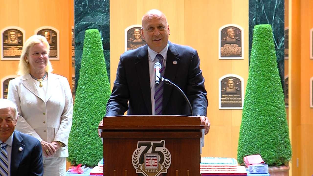 Hall of Fame celebrates its 75th birthday