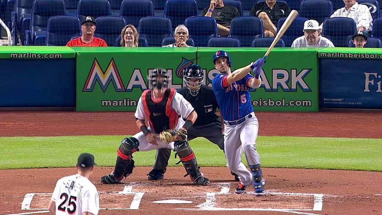 Wheeler lanzó la ruta y Mets blanquearon a Miami
