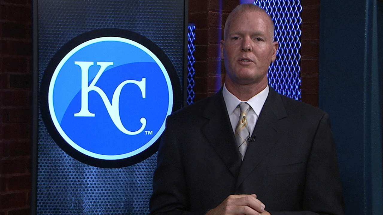 Glass proud, thrilled during Royals' first-place run