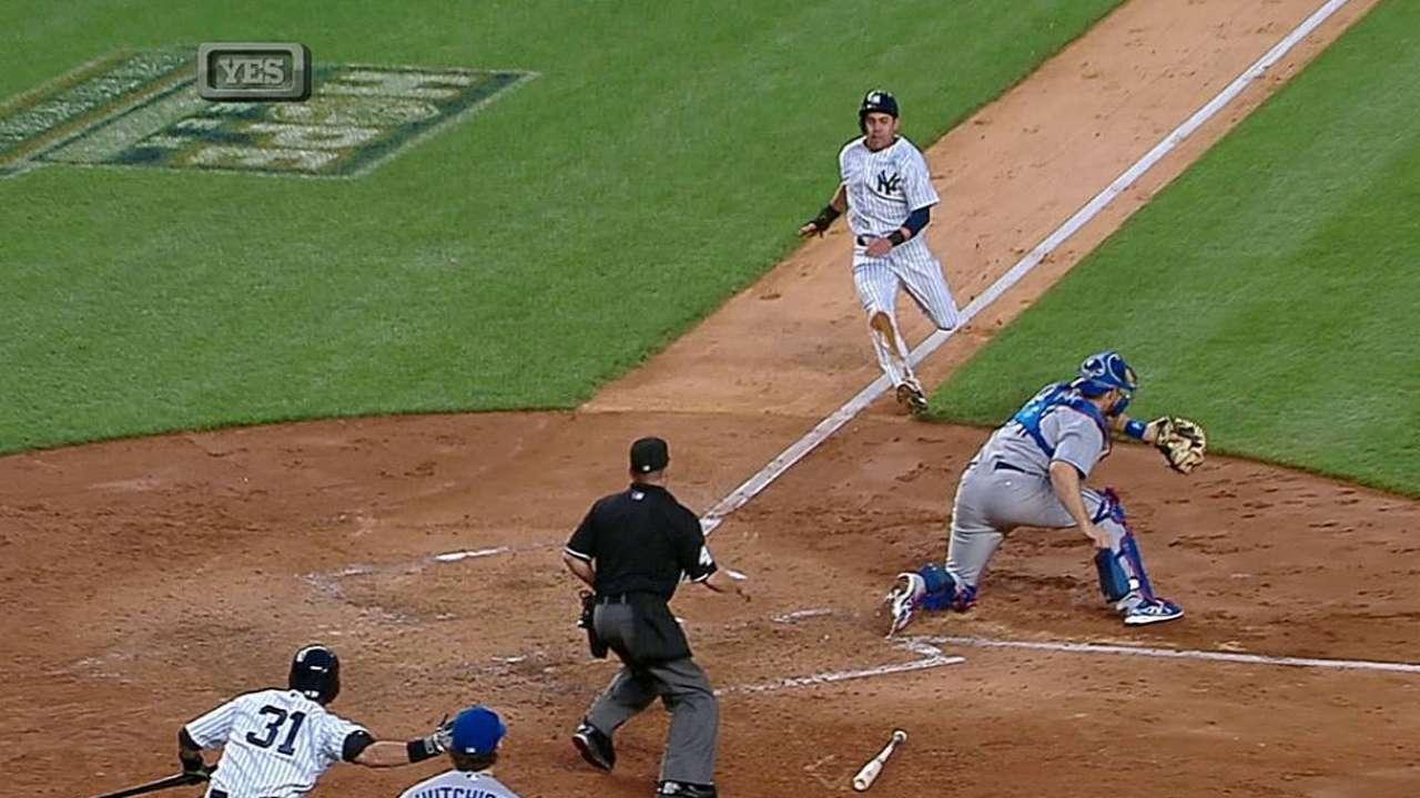 Phelps y Beltrán guíaron a Yankees sobre Azulejos