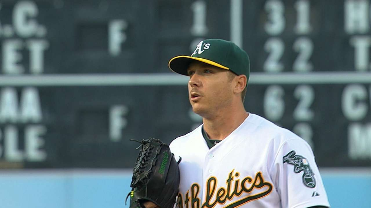 Star trek: Kazmir continues to stay red-hot