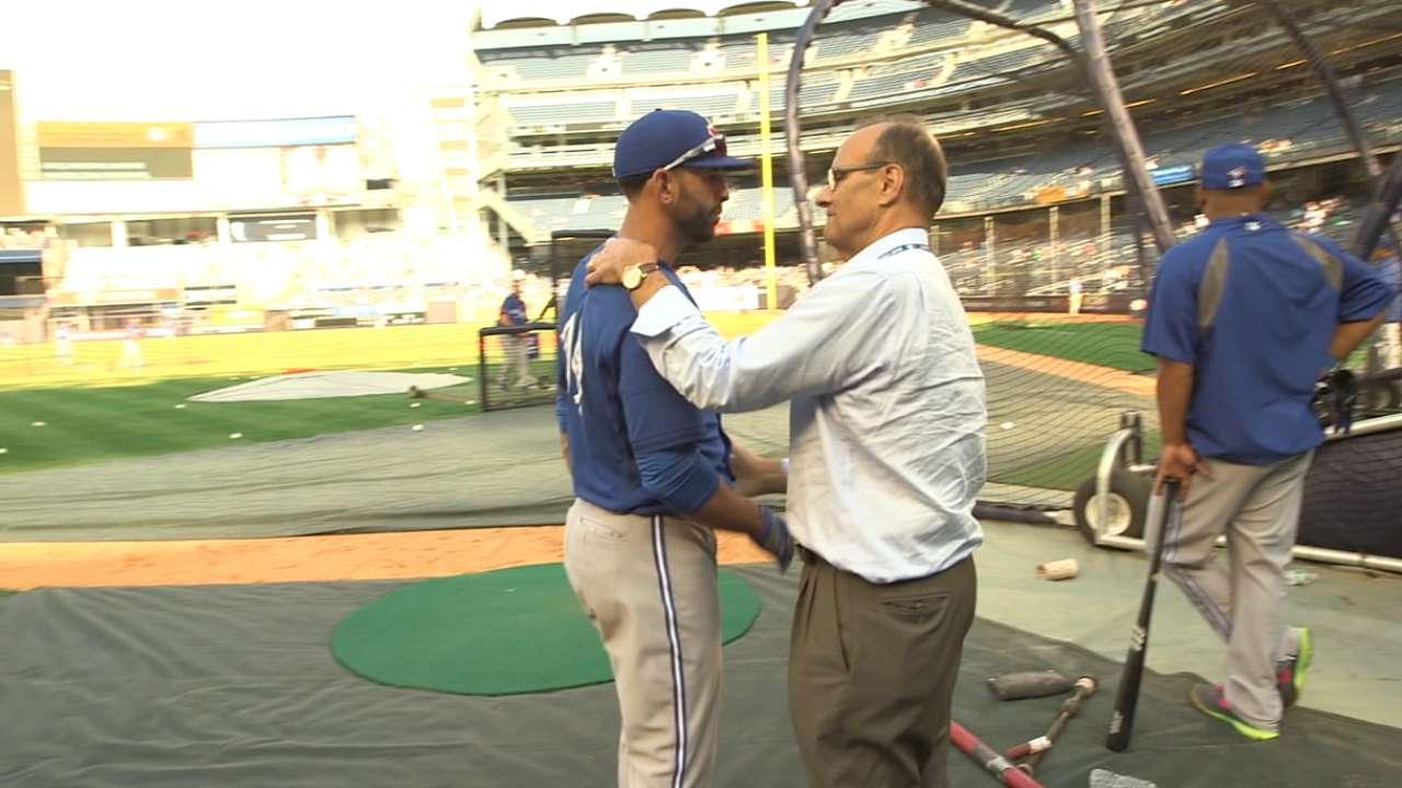 Toronto's Bautista garners global attention