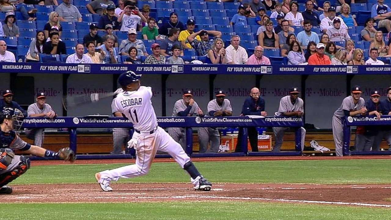 Ofensiva de Rays fue dominada por Cosart, Astros
