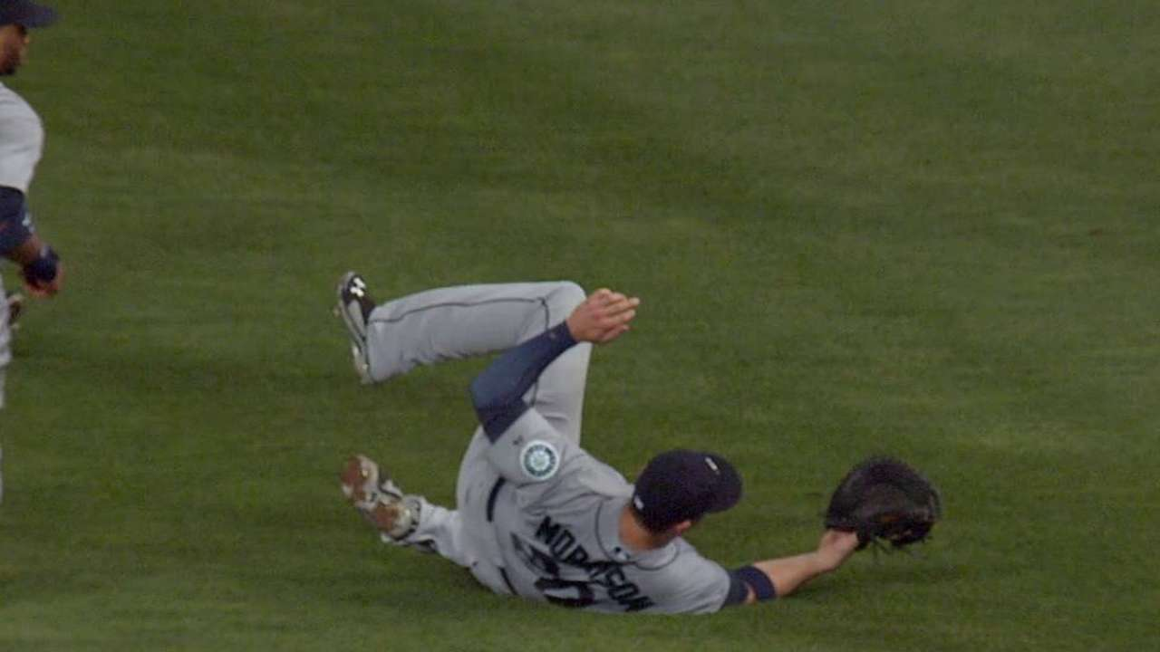 LoMo's brilliant catch saves day for Mariners