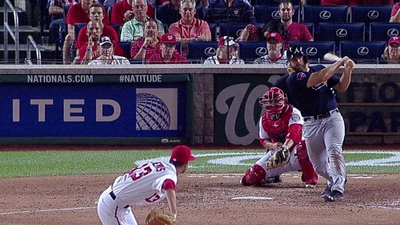 Braves down Nats in 13th to retake top spot in NL East