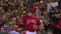 Richards delivers seventh win as Angels beat Rangers