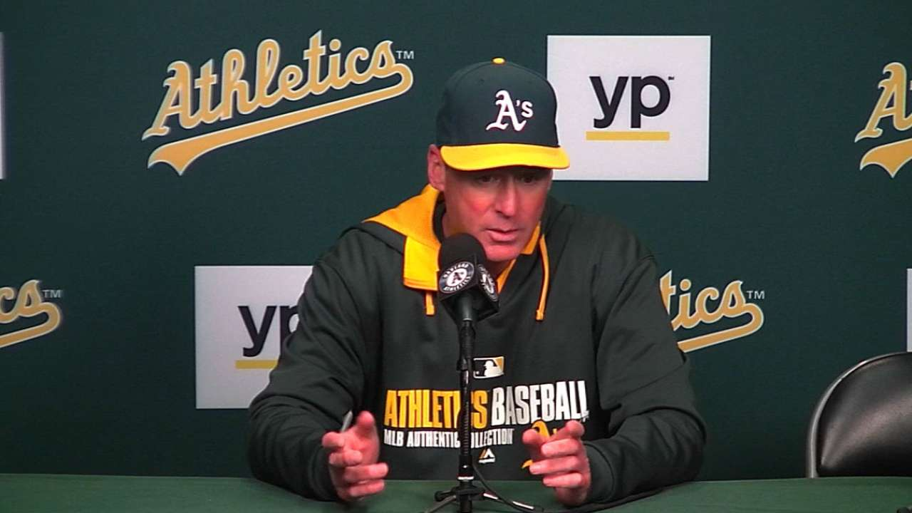 Best record aside, A's taking nothing for granted