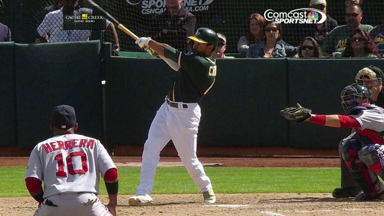 Crisp rescues A's in wild 10th-inning walk-off victory