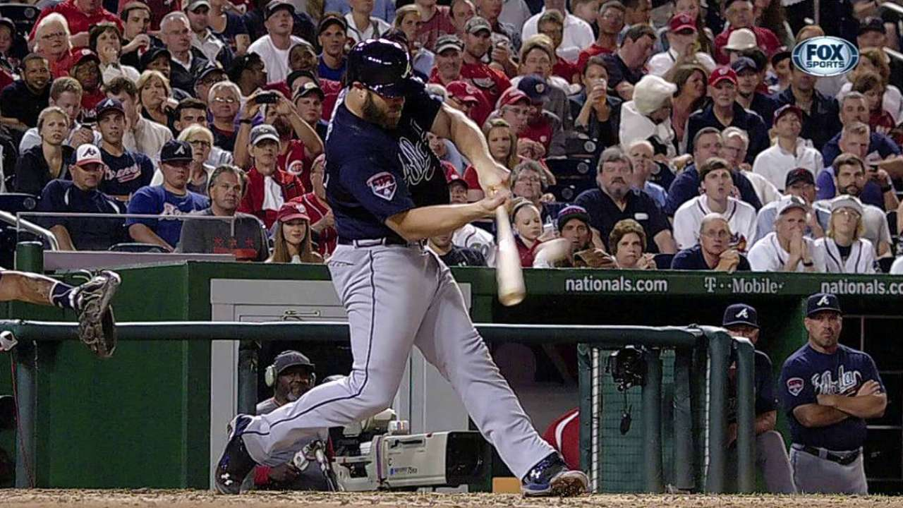 Gattis extends hitting streak to 20 games with single
