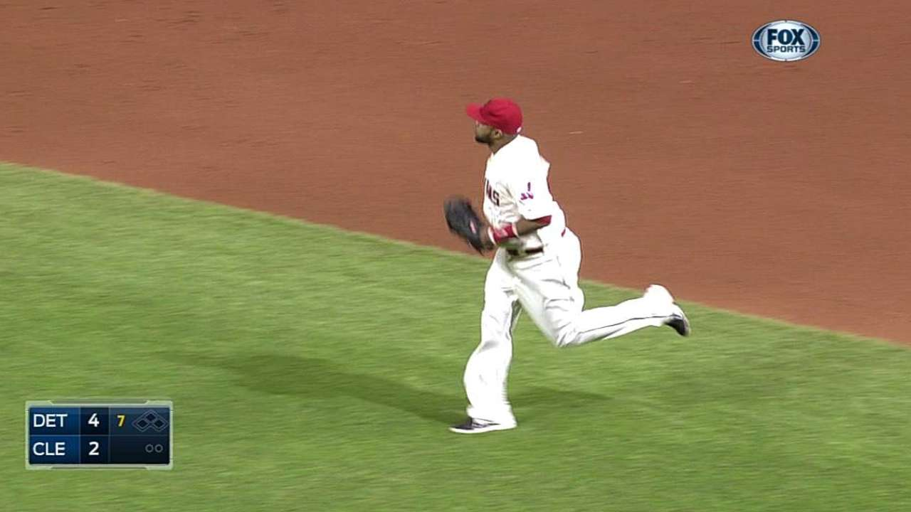 First base now Santana's primary position
