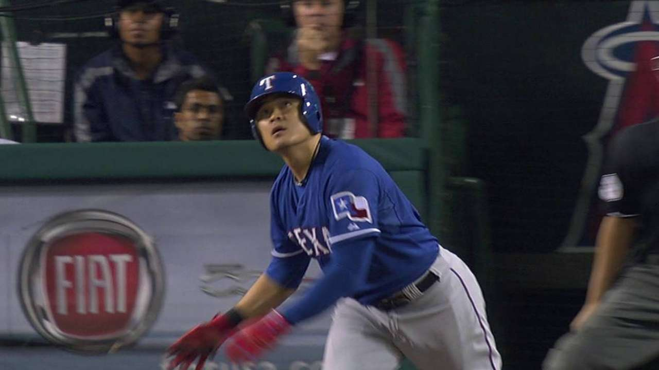 Choo goes back to leadoff spot