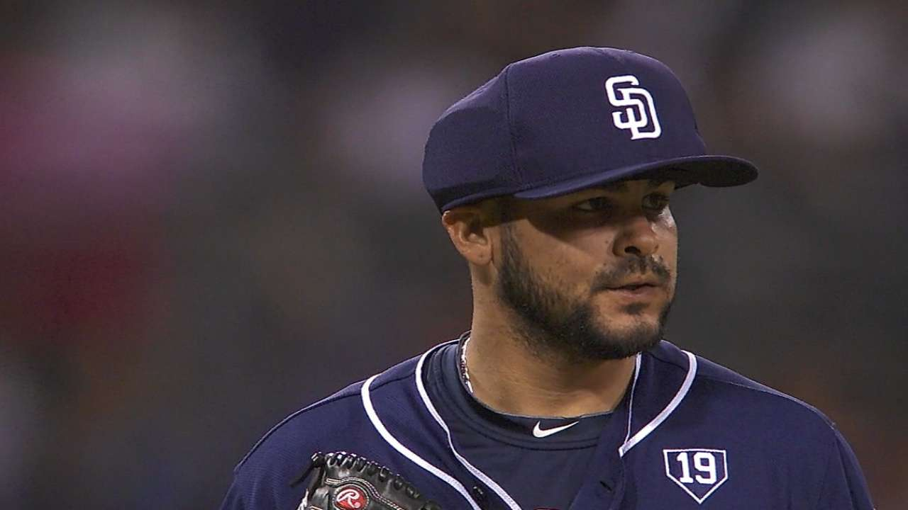 Former Ray Torres is first to try protective hat