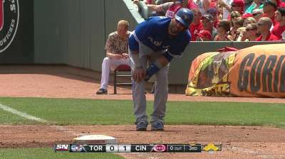 Blue Jays hope Bautista will only miss few games
