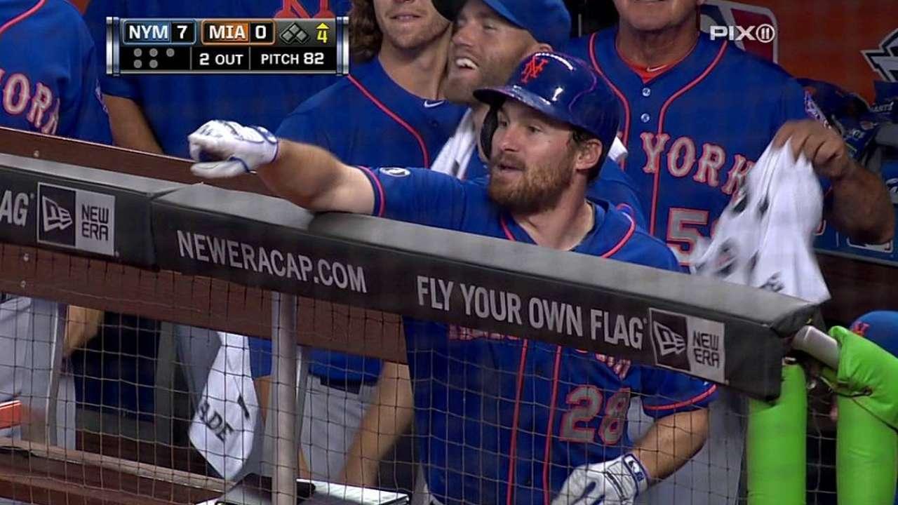 La ofensiva de Mets se hizo sentir contra Marlins