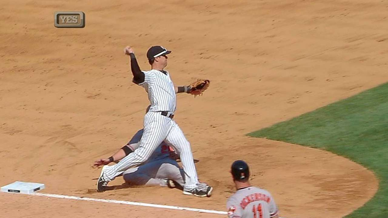 Non-interference call benefits O's, hurts Yanks