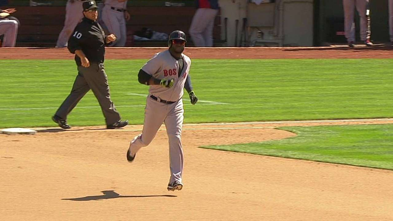 Papi picks up Red Sox in 10th after A's rally