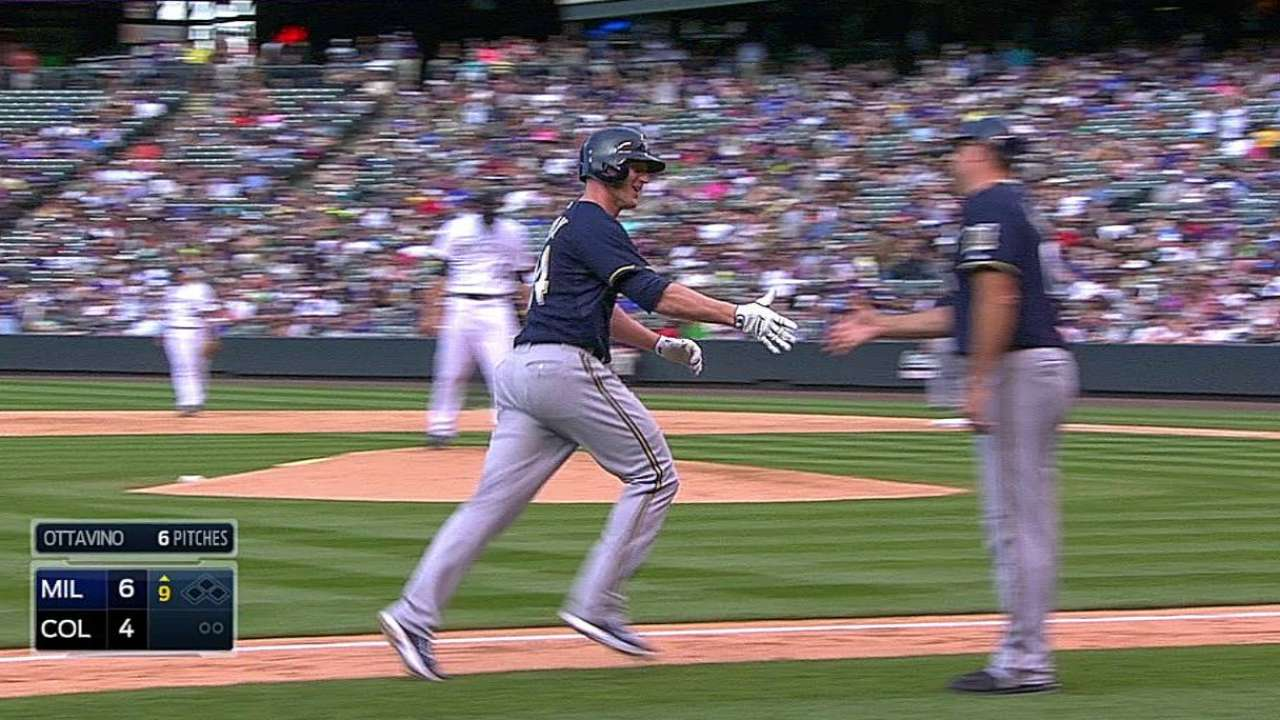Overbay's pinch-hit homer