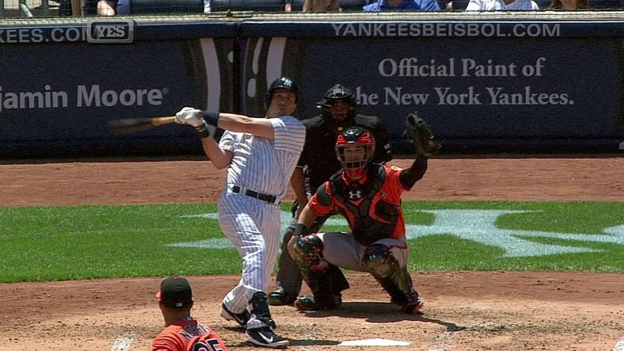 Nuno stung by homers as Yanks' win streak ends