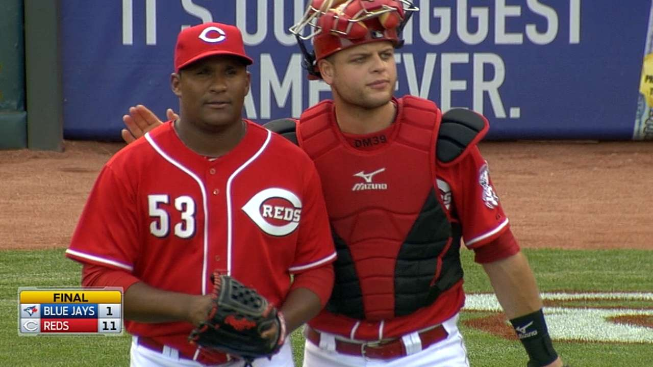 Reds recall Contreras, Partch; Barnhart optioned