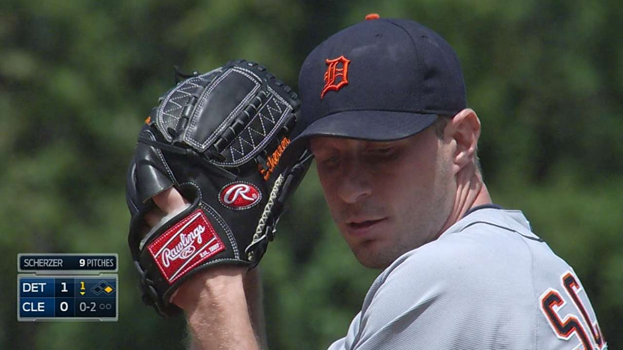 Scherzer refocuses to rebound with strong outing