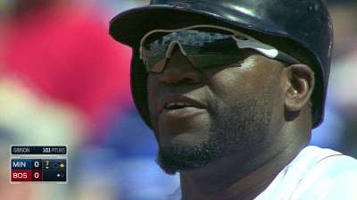 Ortiz gets his hit, apologizes to MLB, Torre, scorer
