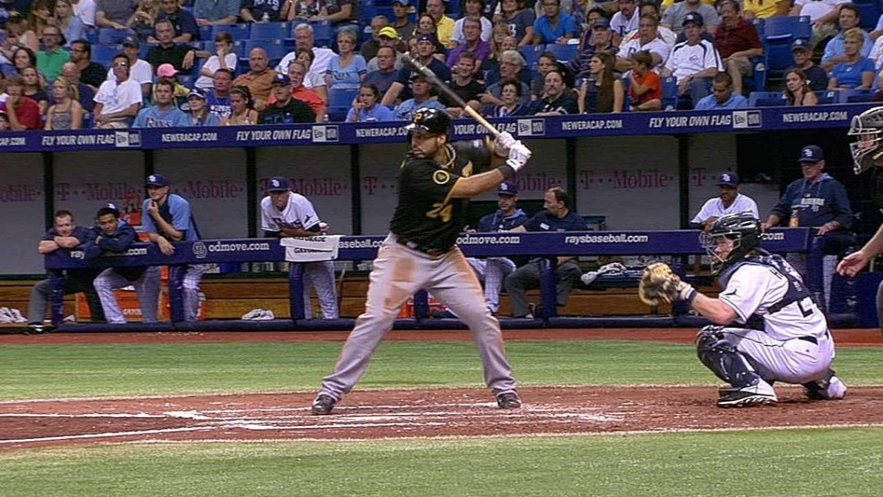 Alvarez, Vólquez impulsaron a Piratas contra Rays