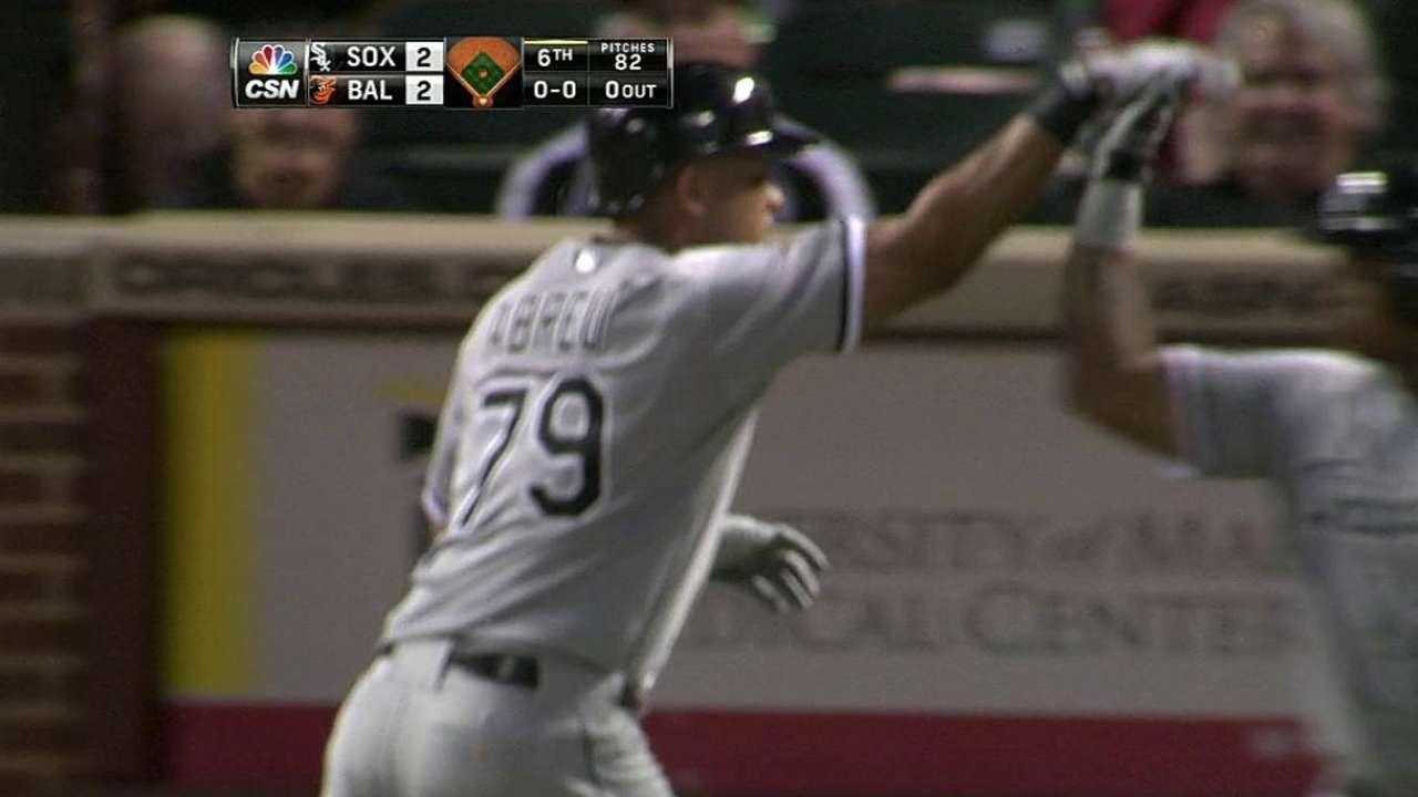 Abreu believes Home Run Derby affects swing