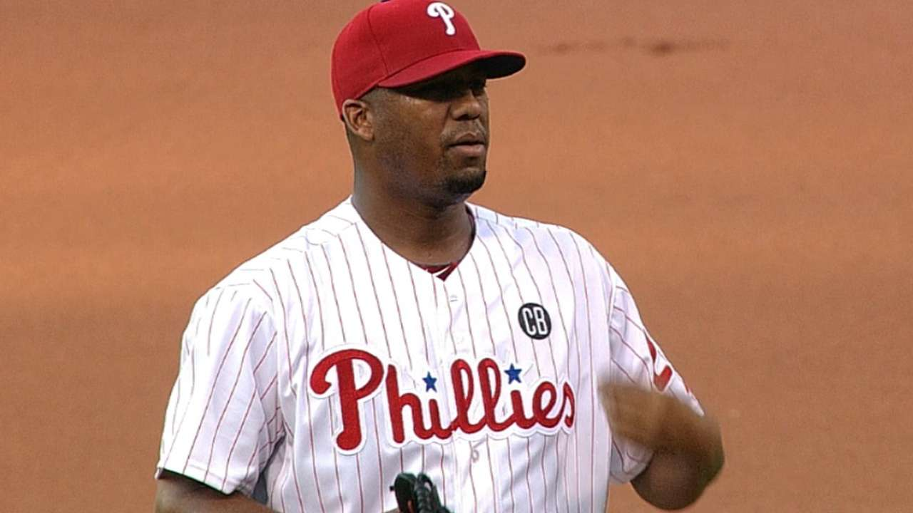 Phils can't get off hook in opener against Fish