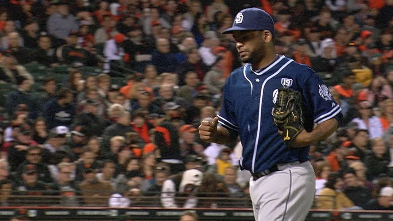 Despaigne not overlooked in Padres' rotation plans