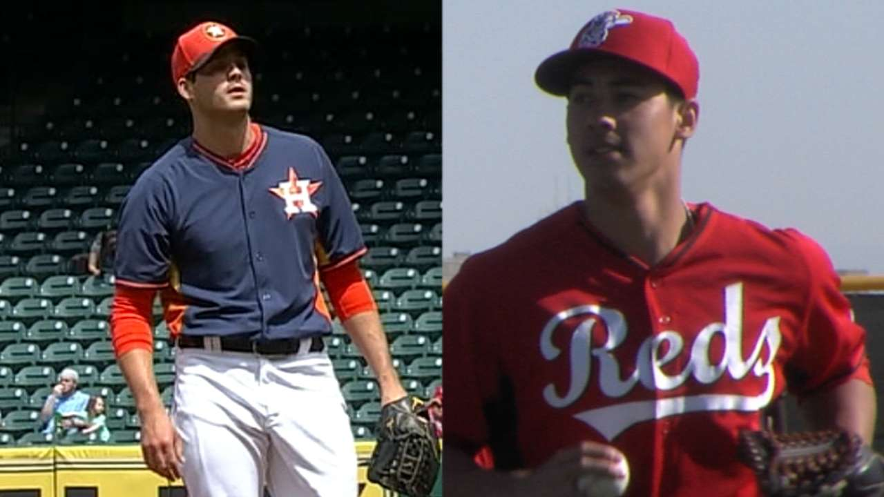 Pipeline Perspectives: Astros have Minors' top rotation