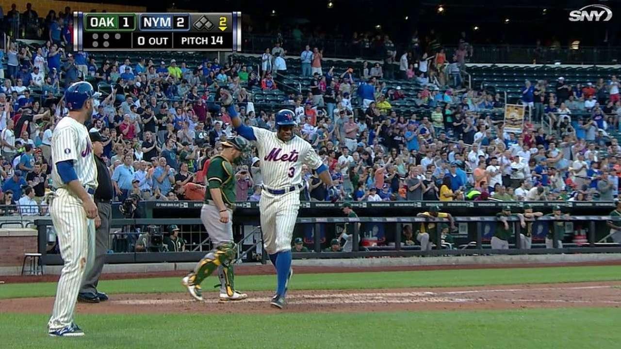 Colón lanzó joya y Mets apalearon con HR a Oakland