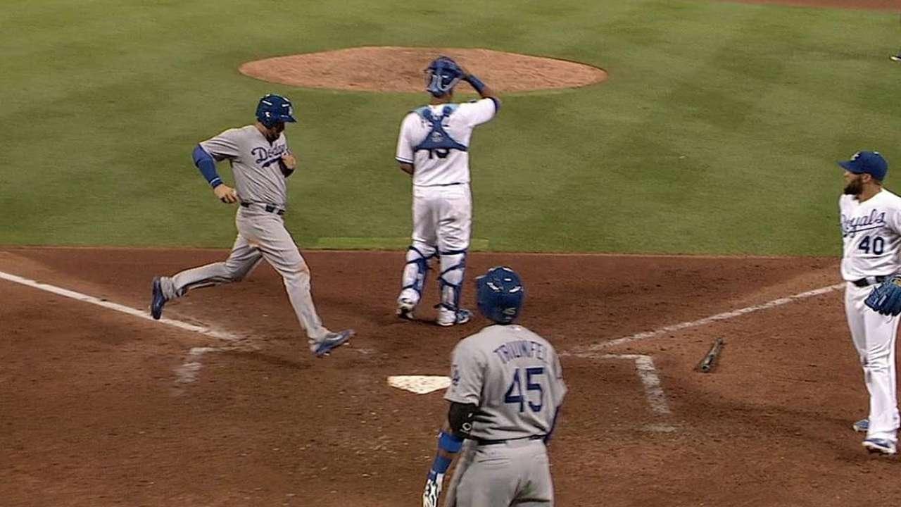 Kershaw lanzó ocho argollas en blanqueada de L.A.