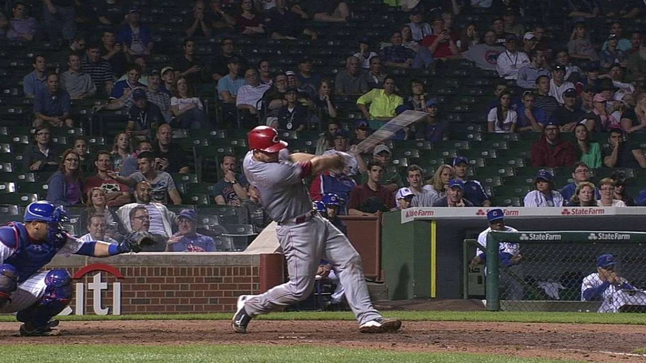 Mesoraco belts way into Reds' record book