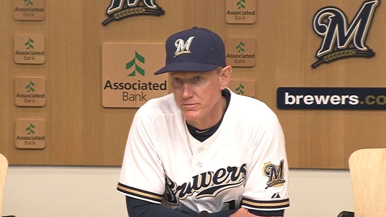 Marathon loss shouldn't deter Brewers