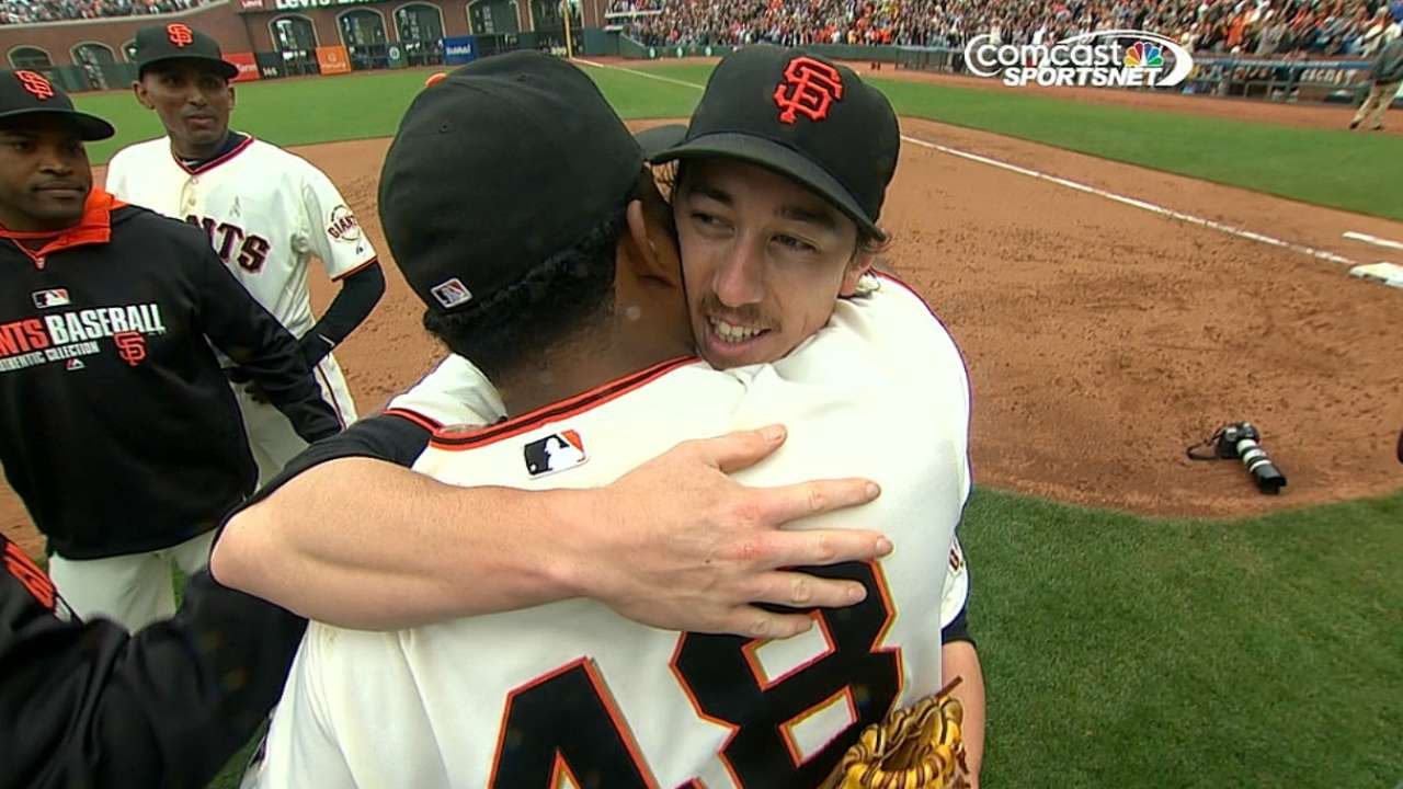 Lincecum's second no-no 16th in Giants history