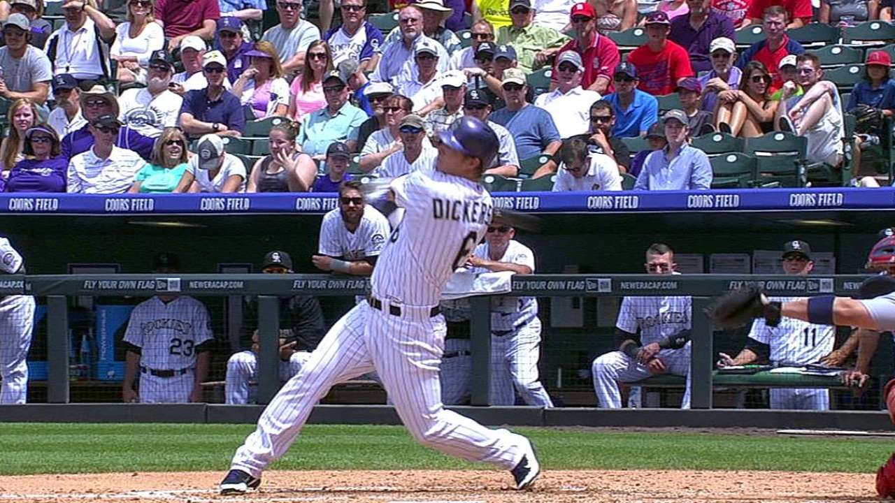 Rockies encourage fans to write in Dickerson